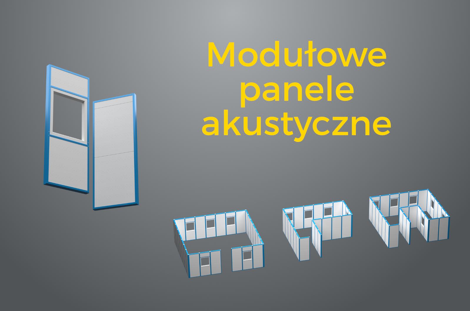 modułowe panele akustyczne