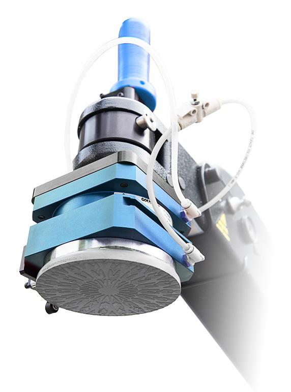 manipulator magnetyczny niebieski