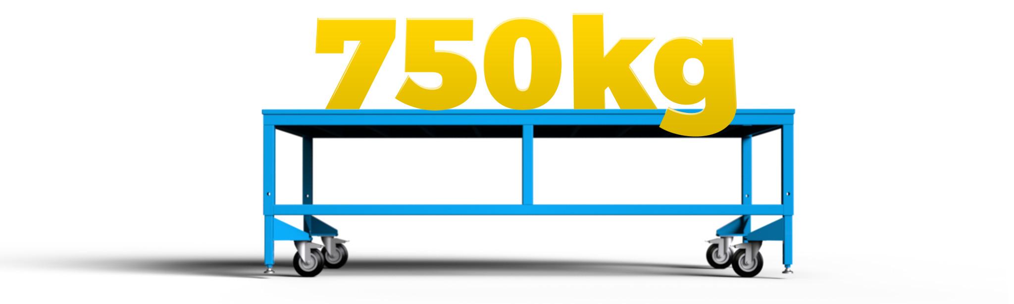 stol montazowy udzwig 750 kilogramow