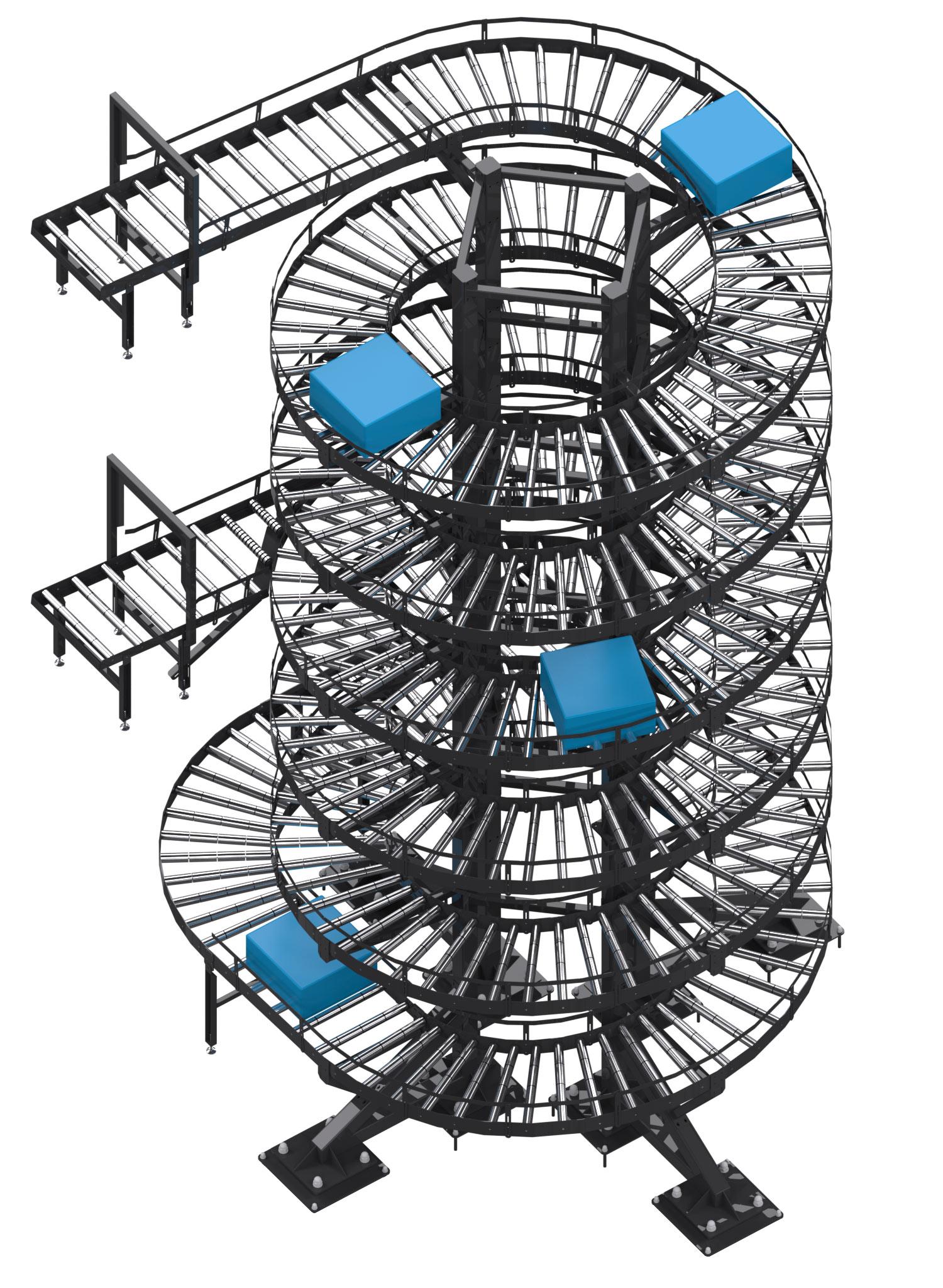 transporter grawitacyjny spiralny