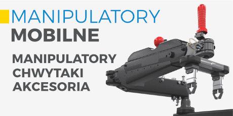 Manipulatory mobilne 3arm, manipulatory mobilne Inox, chwytaki, akcesoria